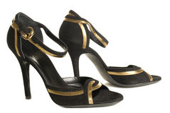 Evening shoes Royalty Free Stock Photography
