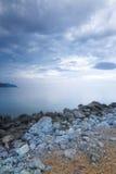 Evening shore Sudak Stock Image