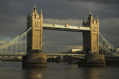 Evening shot of Tower Bridge, London. 2007 Stock Photos