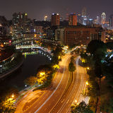 Evening in Singapore Royalty Free Stock Photography