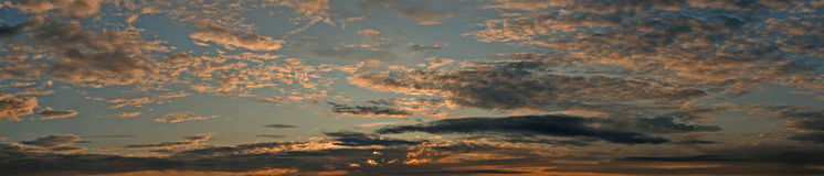Evening skies Royalty Free Stock Images