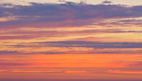 Evening sky 4 Royalty Free Stock Image