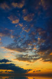 Evening sky background. Royalty Free Stock Images