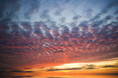 Evening sky background. Royalty Free Stock Photos