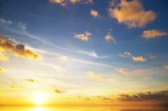 Evening sky background. Stock Photography