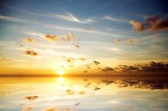 Evening sky background. Stock Photos