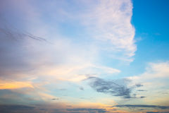 Evening Sky Royalty Free Stock Image