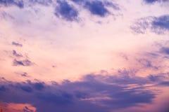 Evening sky Royalty Free Stock Image