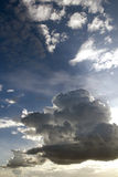 Evening sky and clouds - verical Stock Photos
