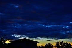 The evening sky Royalty Free Stock Photos