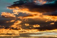 Evening Sky, Sky, Clouds, Light Royalty Free Stock Image