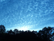 Evening skyline Stock Images