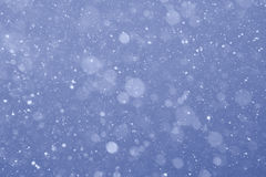 Evening snow Royalty Free Stock Photography