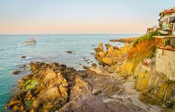 Evening in Sozopol Royalty Free Stock Image
