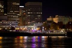 Evening spacer z incydentem w Portland Zdjęcia Stock