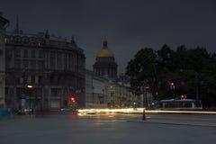 Evening St. Petersburg Stock Photo