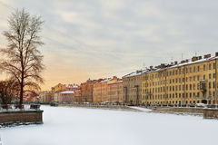 Evening St. Petersburg, Russia Royalty Free Stock Photos