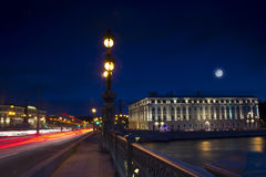 Evening St. Petersburg ,Russia Royalty Free Stock Images
