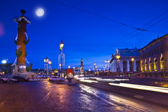 Evening in St. Petersburg Stock Photography