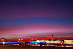 Evening St. Petersburg Stock Photos