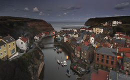 Evening in Staithes [North Yorkshire, UK] Royalty Free Stock Photography