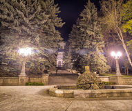 Evening Stavropol Square Royalty Free Stock Photo