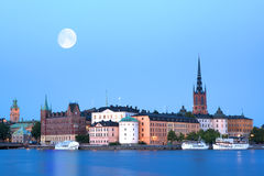 Evening Stockholm. Stock Images