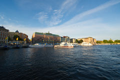 Evening Stockholm Stock Photography