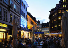 Evening in Strasbourg Royalty Free Stock Photo