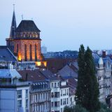 Evening Strasbourg Stock Photography