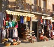 Evening Street Granada Royalty Free Stock Photos