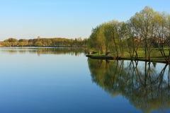 Evening suburban landscape, Potapovo - Butovo - Moscow - Russia Stock Image