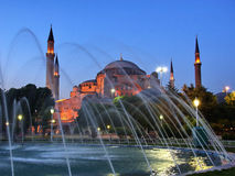 Evening at Sultanahmet Stock Image
