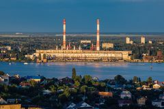 Evening summer Voronezh Royalty Free Stock Photography
