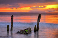 Evening Sun. Sunset at Rossbeigh,Co.Kerry, Ireland Royalty Free Stock Photo
