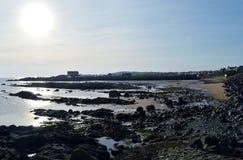 Evening sun, Elie, Fife, Scotland Stock Images