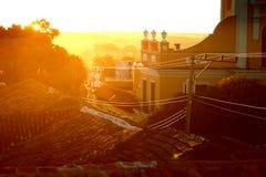 Evening sun Royalty Free Stock Image