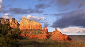Evening Sun in Sedona Arizona Stock Photography