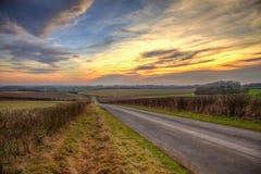 Evening sunset Royalty Free Stock Image