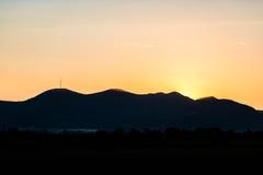 Evening sunset Royalty Free Stock Photos