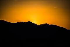 Evening sunset Stock Photo