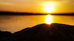 Evening sunset Royalty Free Stock Photography