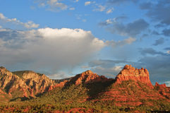 Evening sunset capture over sedona, az, usa Stock Photos