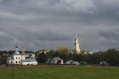 An evening is in Suzdal. Royalty Free Stock Photo