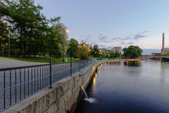 Evening Tampere. Finland. Stock Photography