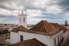 Evening in Tavira city, Portugal Royalty Free Stock Photo