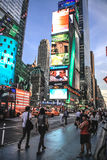 Evening at Times Square Stock Photography