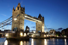 Evening Tower Bridge, London Royalty Free Stock Image