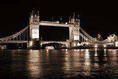 Evening Tower Bridge, London, UK Royalty Free Stock Images