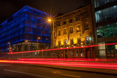 Evening traffic in Dublin Royalty Free Stock Photography